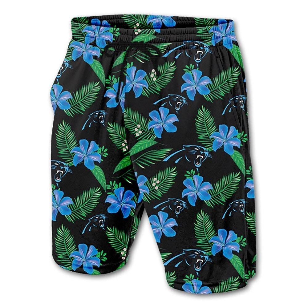Carolina Panthers Hawaiian Shorts