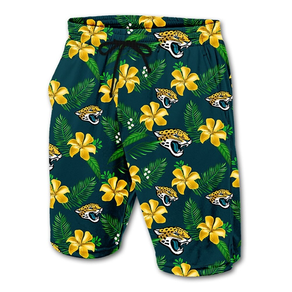 Jacksonville Jaguars Hawaiian Shorts
