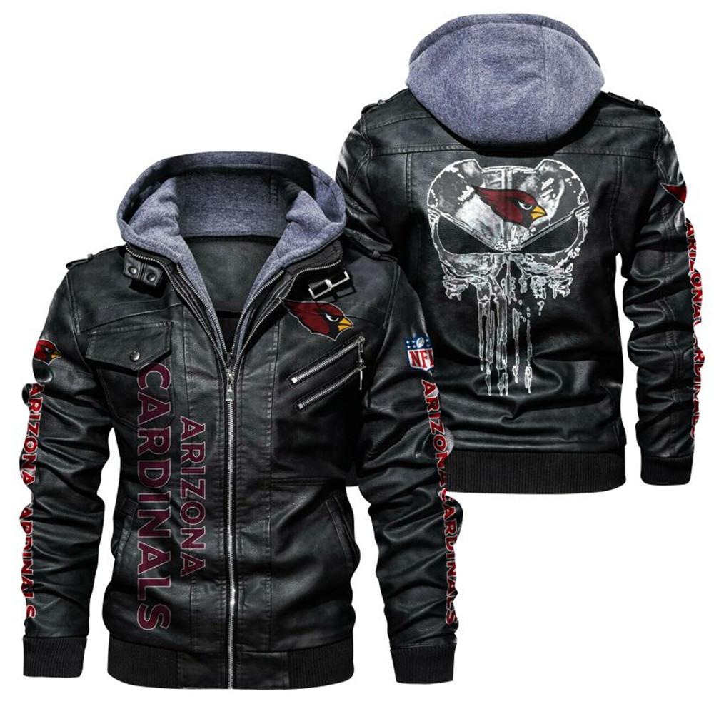 Arizona Cardinals Leather Jacket