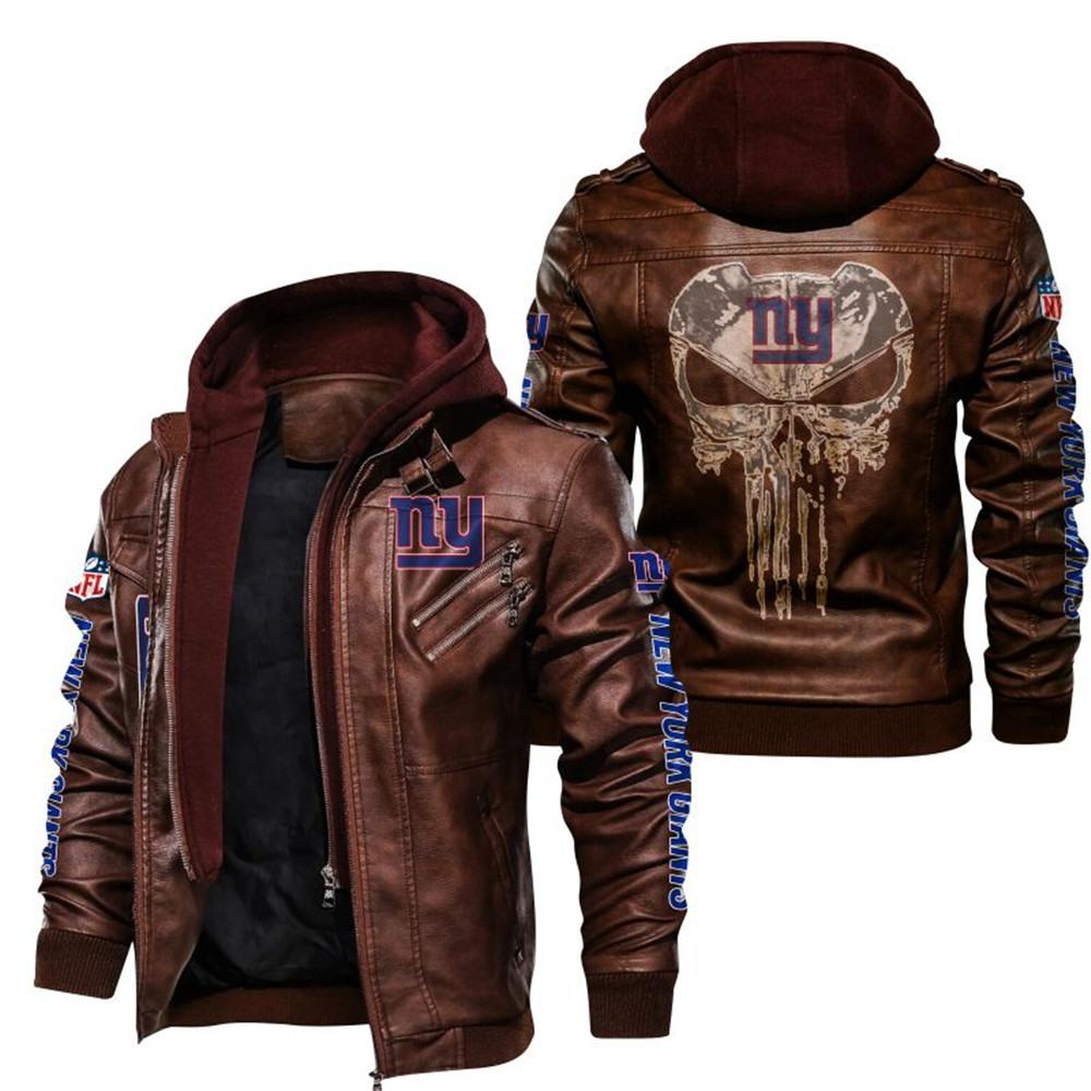 New York Giants Leather Jacket