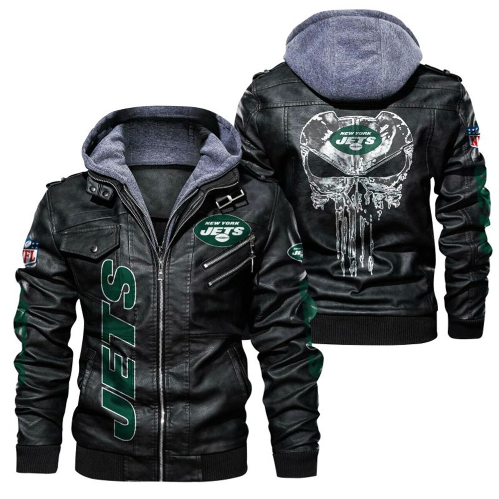 New York Jets Leather Jacket