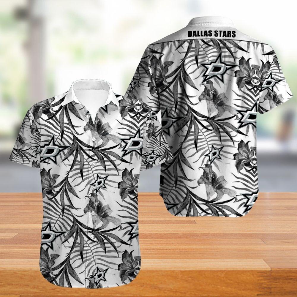 Dallas Stars Hawaiian Shirt