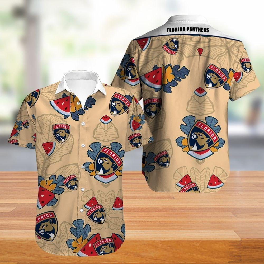 Florida Panthers Hawaiian Shirt